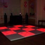 Small Light Up LED Dance Floor