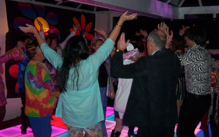 Themed Party with LED Dance Floor