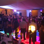 Indoor LED Dance Floor Event