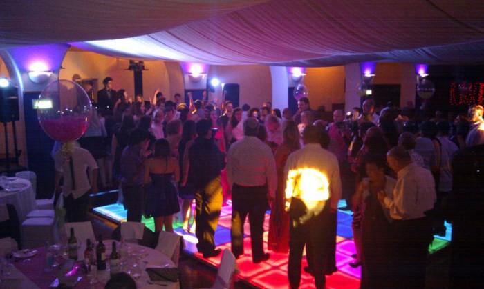 Indoor LED Dance Floor Event