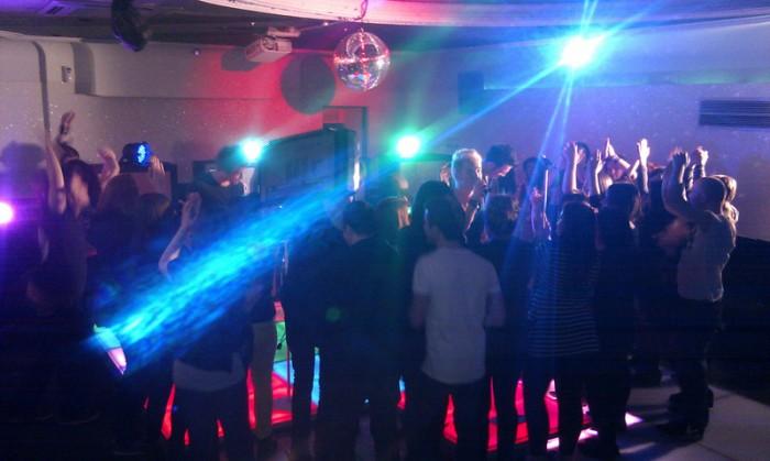 LED Dance Floor Party