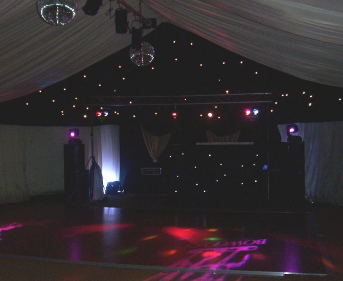 Starcloth Hire from Flash Dance Floors