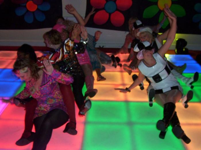 Theme Party Dance Floor Hire