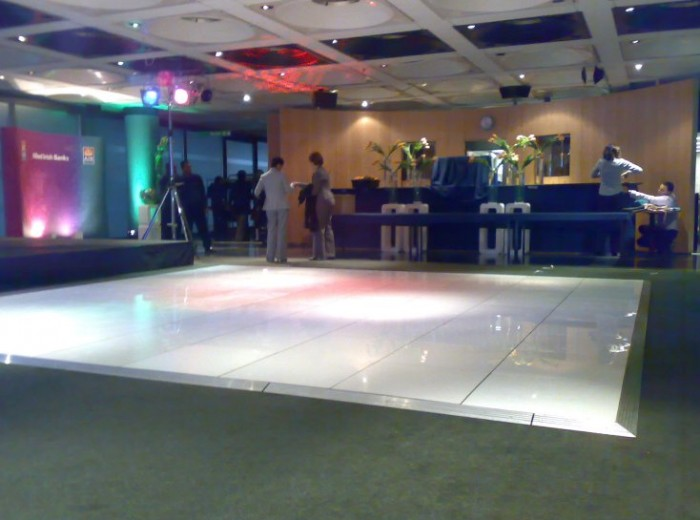Company Event LED Dance Floor Hire