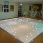 Wedding Starlight Dance Floor Hire