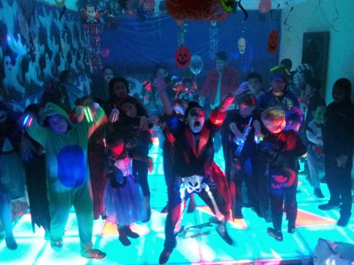 Haloween LED Dance Floor Party