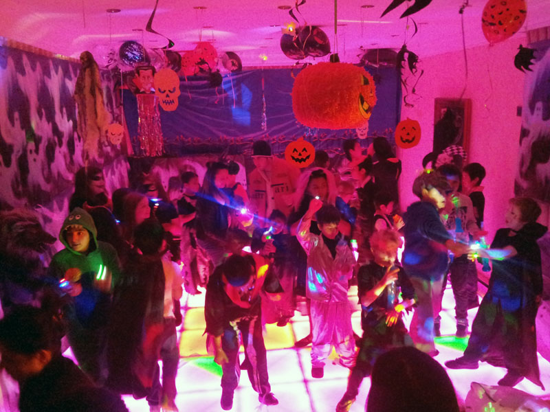 Halloween LED Dance Floor Party