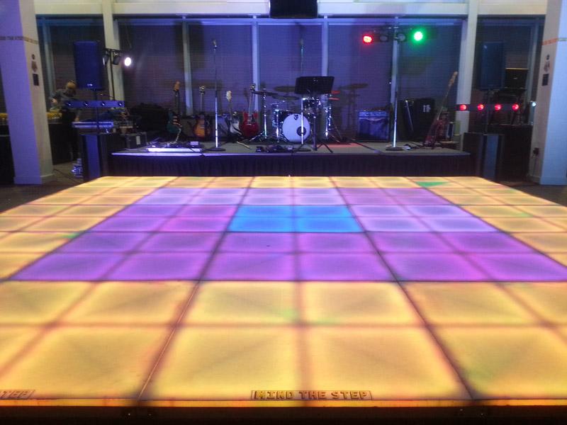 Live Band LED Dance Floor Hire