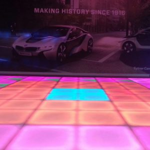 Dance Floor Hire at Product Launch