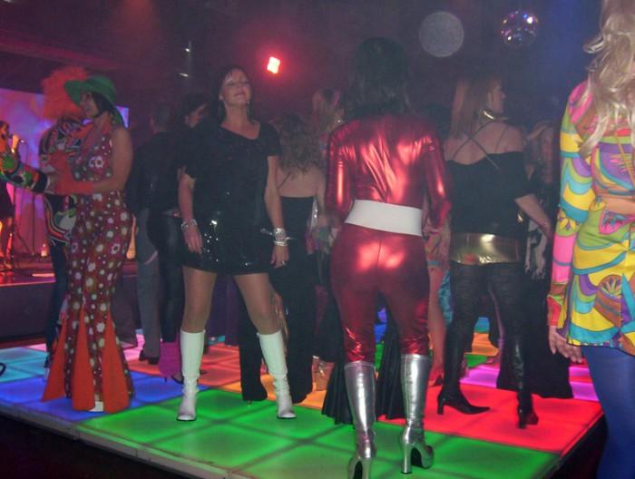 70's LED Dance Floor party