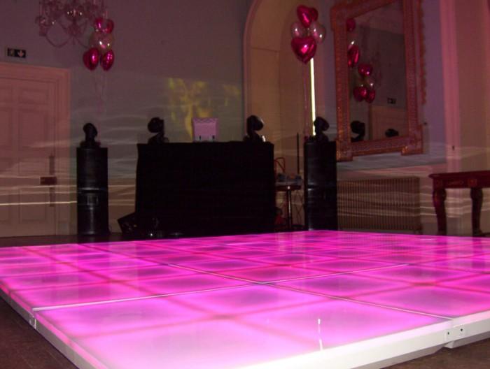 Small Light Up LED Dance Floor