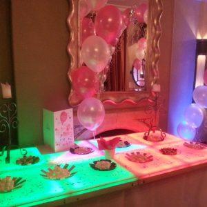 Fantastic Presentation on a LED Table
