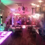 Colourful Birthday Party - Dance Floor & Tables