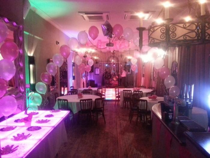Colourful Birthday Party - Dance Floor & Tables