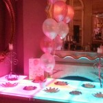 Light Up Tables for catering