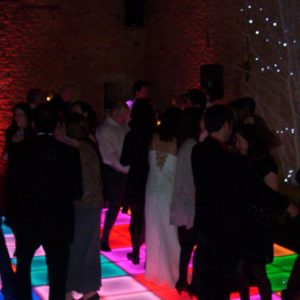 Christmas LED Colourful Dance Floor Hire