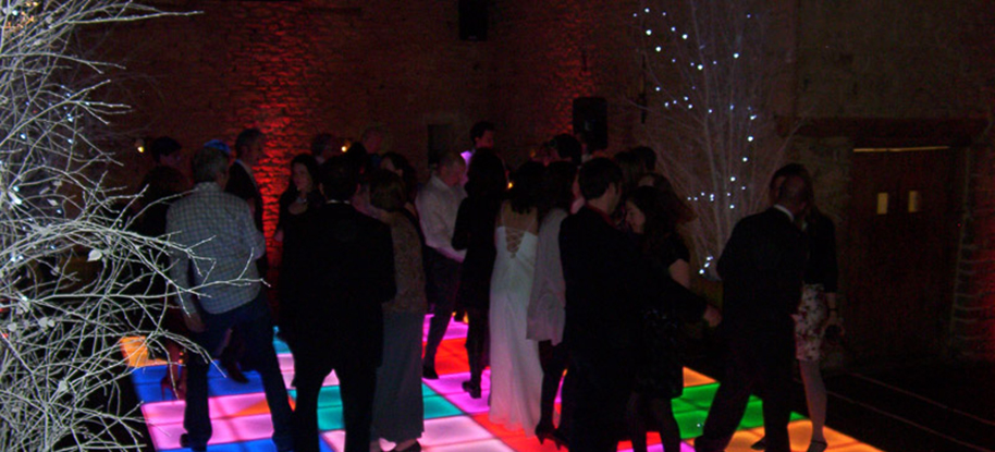 Colourful Dance Floor LED Lights