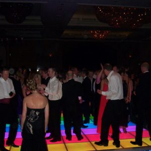 Dance Floor Hire UK party