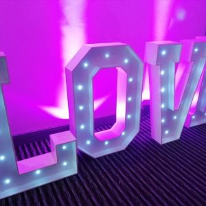 LOVE Letters LED For Hire