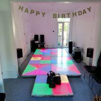 Retro Dance Floor Party Fun