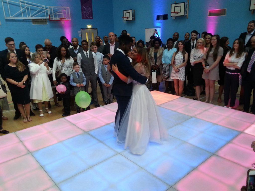 First Dance Wedding Dance Floor