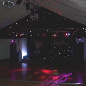 Gliitter Balls Disco Room Hire