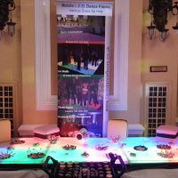 LED Light Up Tables Sweets Treats