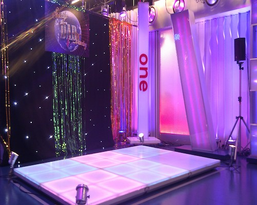 LED Stage Media Production Hire