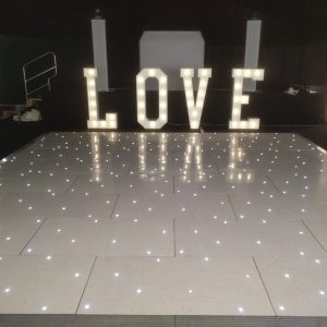 LOVE LED LETTERS HIRE