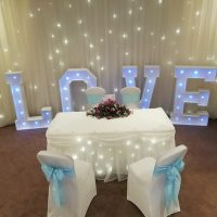 Wedding Props Entertainment Lights