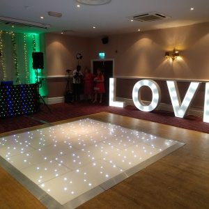 Love Lettering Wedding Hire