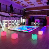 Party Hire Light Up Tables Chairs Floors