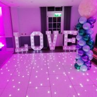LOVE Wedding Letters for hire