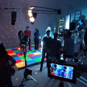 Stage Hire Floors LED Lights