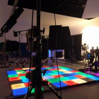 Stage Production LED hire Lights Floors