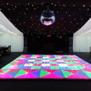 Wedding Reception Disco Balls Hire